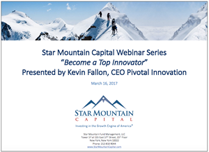 Webinar: How to Become a Top Innovator Through Systematic Innovation