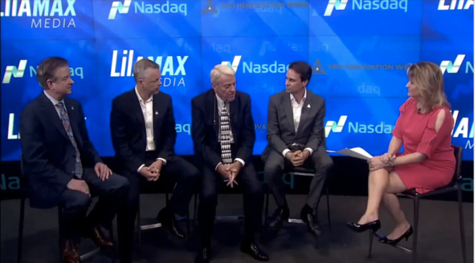 Kevin Fallon Participates in Panel Interview with Jane King at NASDAQ